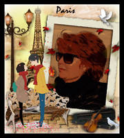 PARIS , TOWN OF LOVE by IME54-ART