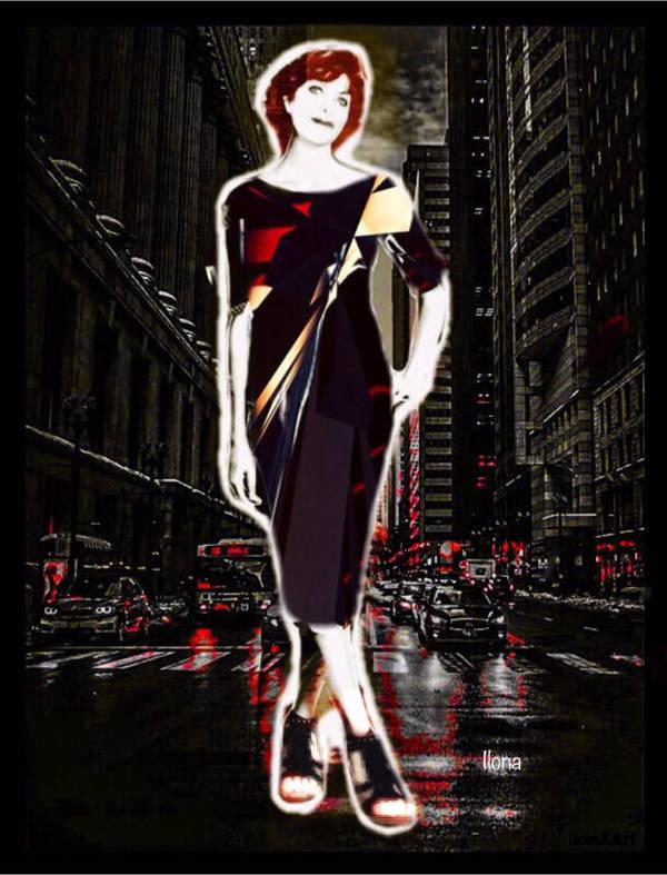 THE NIGHT WALK by IME54-ART