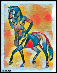 MY CHINESE STARS IMAGE IS HORSE by IME54-ART