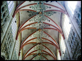 SINT-JANSCATHEDRAL IN  S,HERTOGENBOSCH by IME54-ART