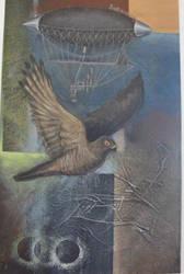 omg, Giant Sparrowhawk by PixellerJeremy