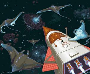 Migration of the Sky Rays by PixellerJeremy