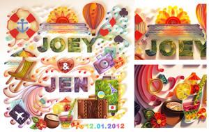 Joey and Jen by UsoKei