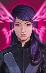 Psylocke by pretty-cool-huh
