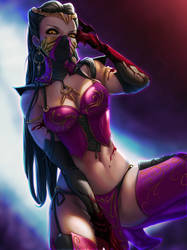 Queen Mileena by pretty-cool-huh