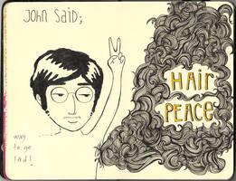 moleskine 06 - hair peace by lalycorn