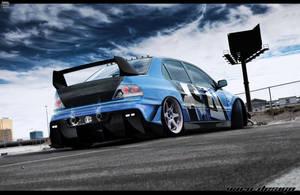 Mitsubishi lancer evolution by VaroDesign