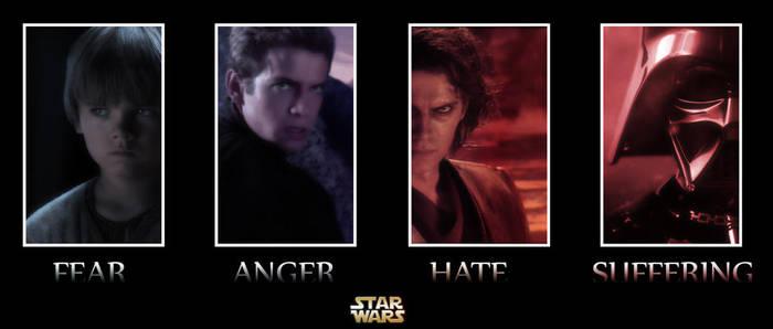 Anakin Skywalker Banner by JaXParabellum