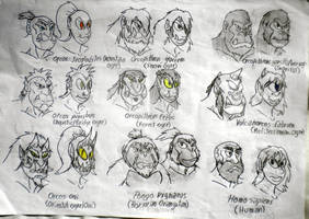YGGDRASIL'S RACES I: Midgard's Primates by DiamondheadMan