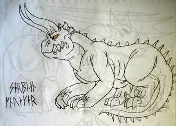 DRAGONS: The Serbian Knucker by DiamondheadMan