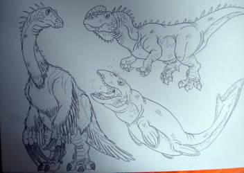 2016's Dinovember #46 by DiamondheadMan