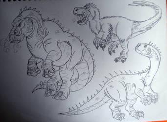 2016's Dinovember #49 by DiamondheadMan