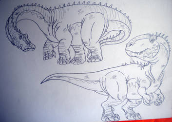 2016's Dinovember #51 by DiamondheadMan