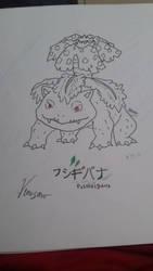 Venusaur by pup-fu