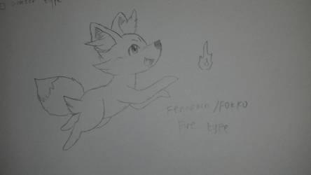 Fennekin/Fokko by pup-fu