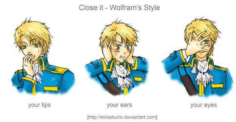Close it - Wolfram's style by milostudio