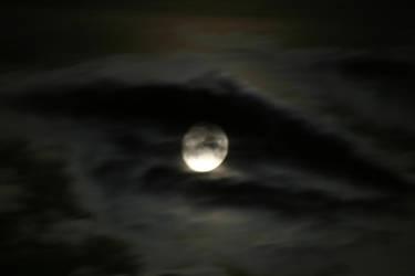 Eye moon by PureStock