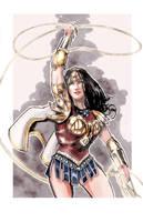 Greco-Roman Armor Wonder Woman by timothylaskey