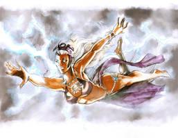 Storm bikini by timothylaskey