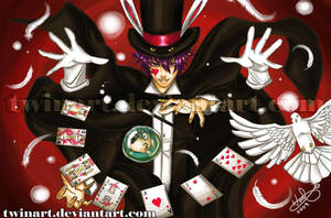 THE MAGICIAN by twinart