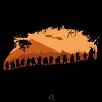 Thorin's Company by ShadyEldarwen