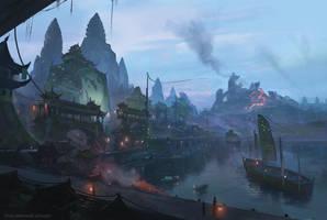 The Fruitful Port 2 by ChrisOstrowski