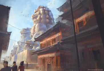 The Grand Halls by ChrisOstrowski
