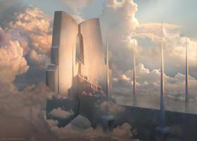 Sky Temple by ChrisOstrowski