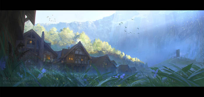 Town of Beginnings by ChrisOstrowski