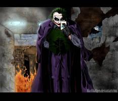 The Joker by blackballpen