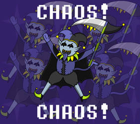 Jevil - Deltarune by AlyssaWalfas40