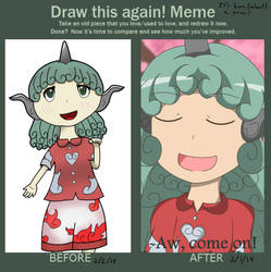 Draw This Again (Aunn Komano) by AlyssaWalfas40