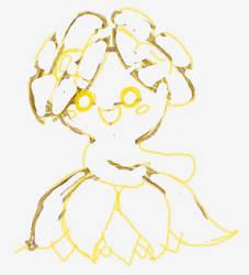 Bellossom sketch by KISU5834