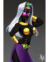 Queen Tyr'ahnee by Lui-ra