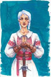 Slavic Ciri by Lady-Nerevar