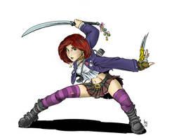 Teen Age Monster Hunter by Sabakakrazny