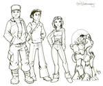 Triplanetary Webcomic Cast by Sabakakrazny