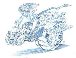 Nebb bike by Sabakakrazny
