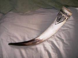 White Horn by Sabakakrazny