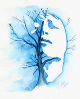 feeling blue by Zabyna