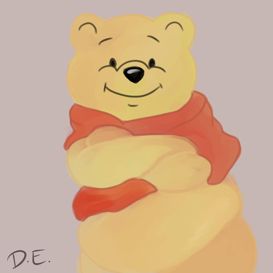 Winnie The Pooh by Dismal-Arts