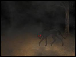 Halloween 08:  Black Shuck by TheGrandAdmiral