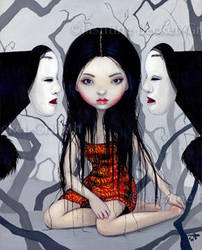 Faceless Ghosts by jasminetoad