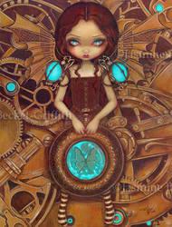 Mechanical Angel I by jasminetoad