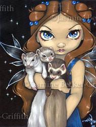 Armful of Ferrets by jasminetoad