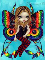 Vivid Wings by jasminetoad