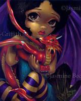 Darling Dragonling I by jasminetoad