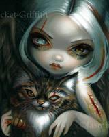 Zombie Kitty by jasminetoad