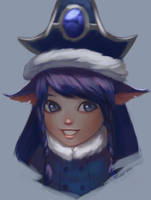Winter Wonder Lulu speed paint by TychyTamara