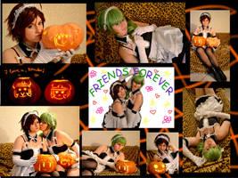 Black and N _ Halloween Cosplay by Ravelcoplay